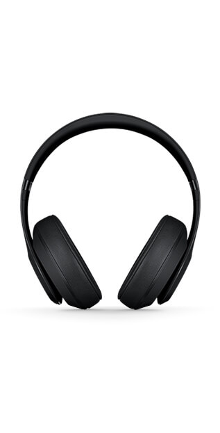 Beats Studio3 Wireless Headphones in black