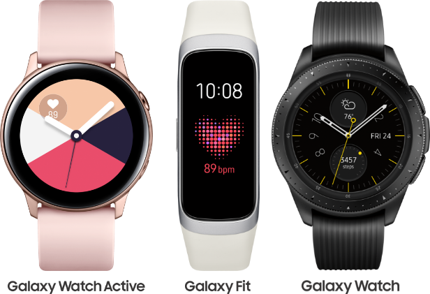 Samsung Wearable Promotional Banner