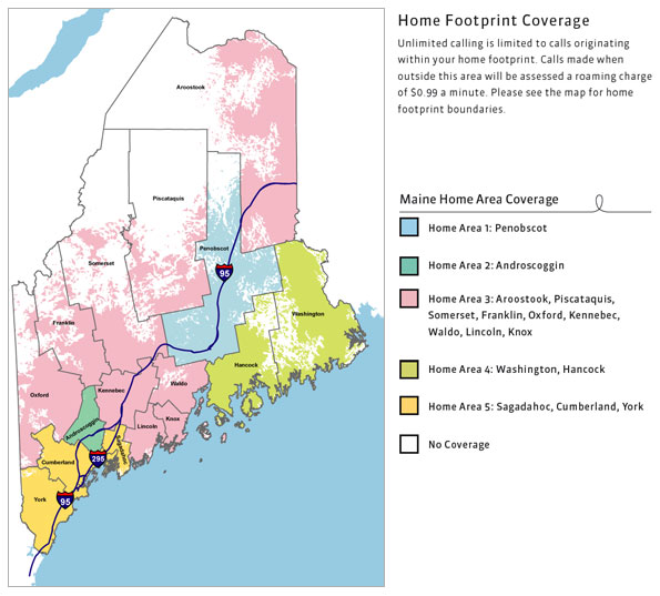 Us Cellular Coverage Map Maine Maine Home Area Plans | Specialty Plans | U.S. Cellular
